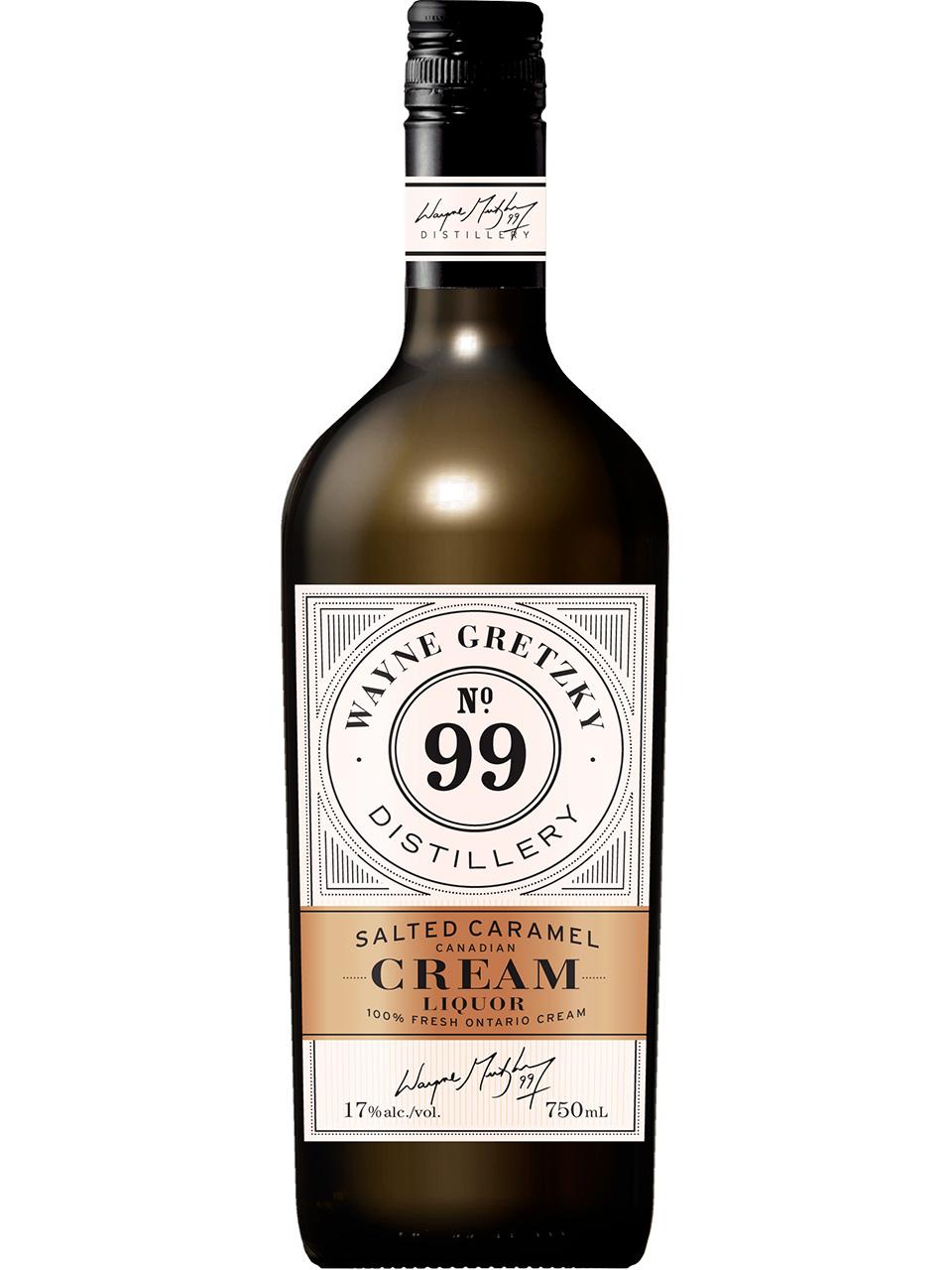 Wayne Gretzky Salted Caramel Cream Whisky Liqueur