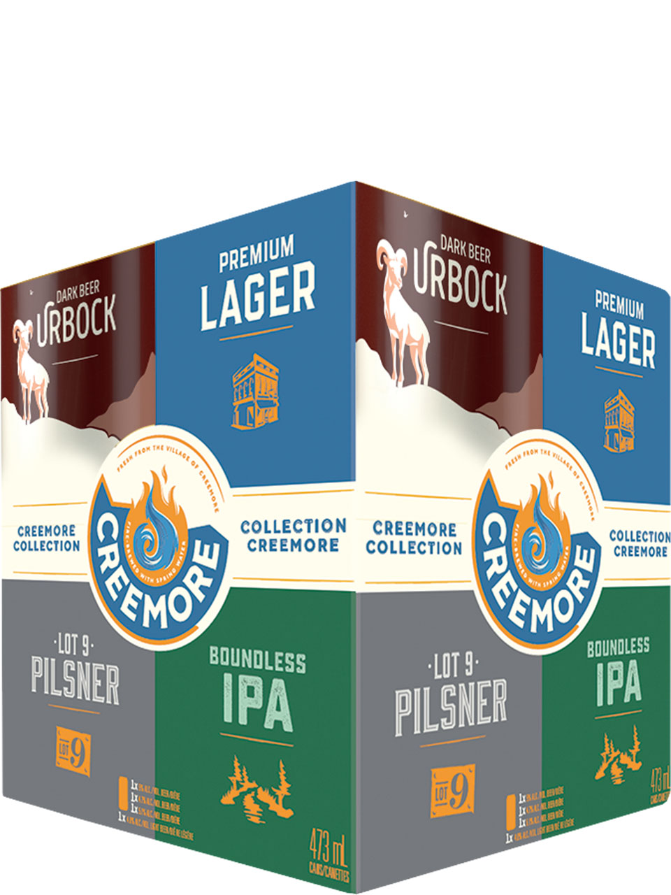 Creemore Springs Winter Collection 4 Pack Cans