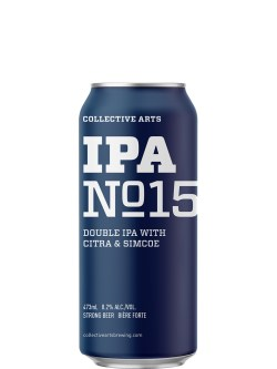 Collective Arts IPA No.15 DIPA Simcoe & Citra Hops