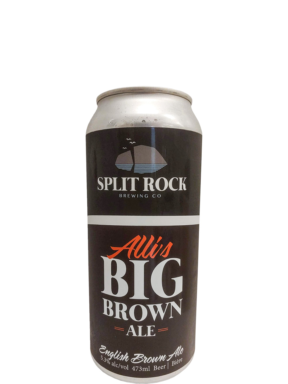 Split Rock Alli's Big Brown Ale 473ml Can