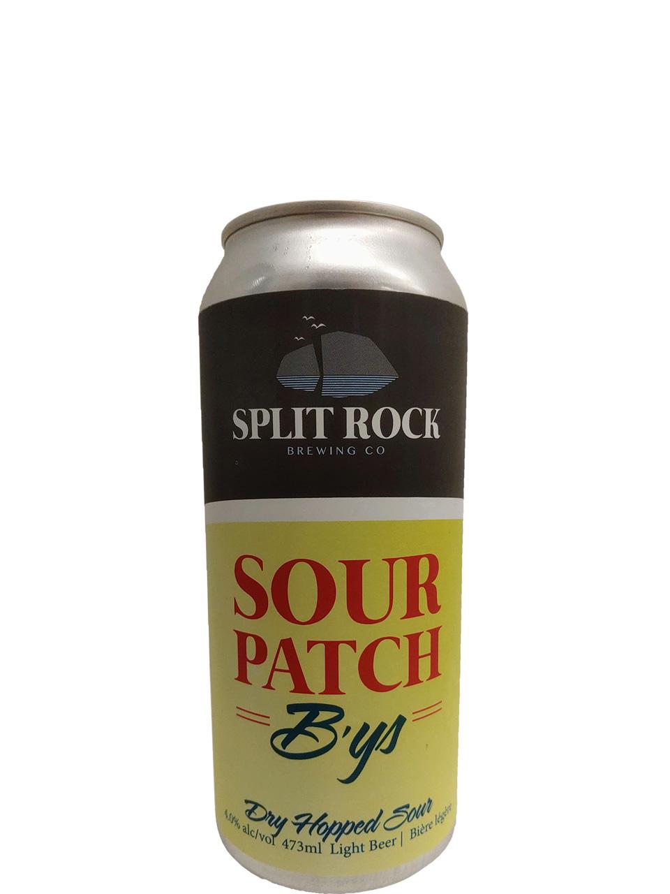 Split Rock Sour Patch B'ys Kettle Sour 473ml Can