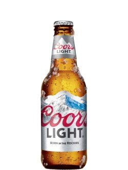 Coors Light Bottles 6pk