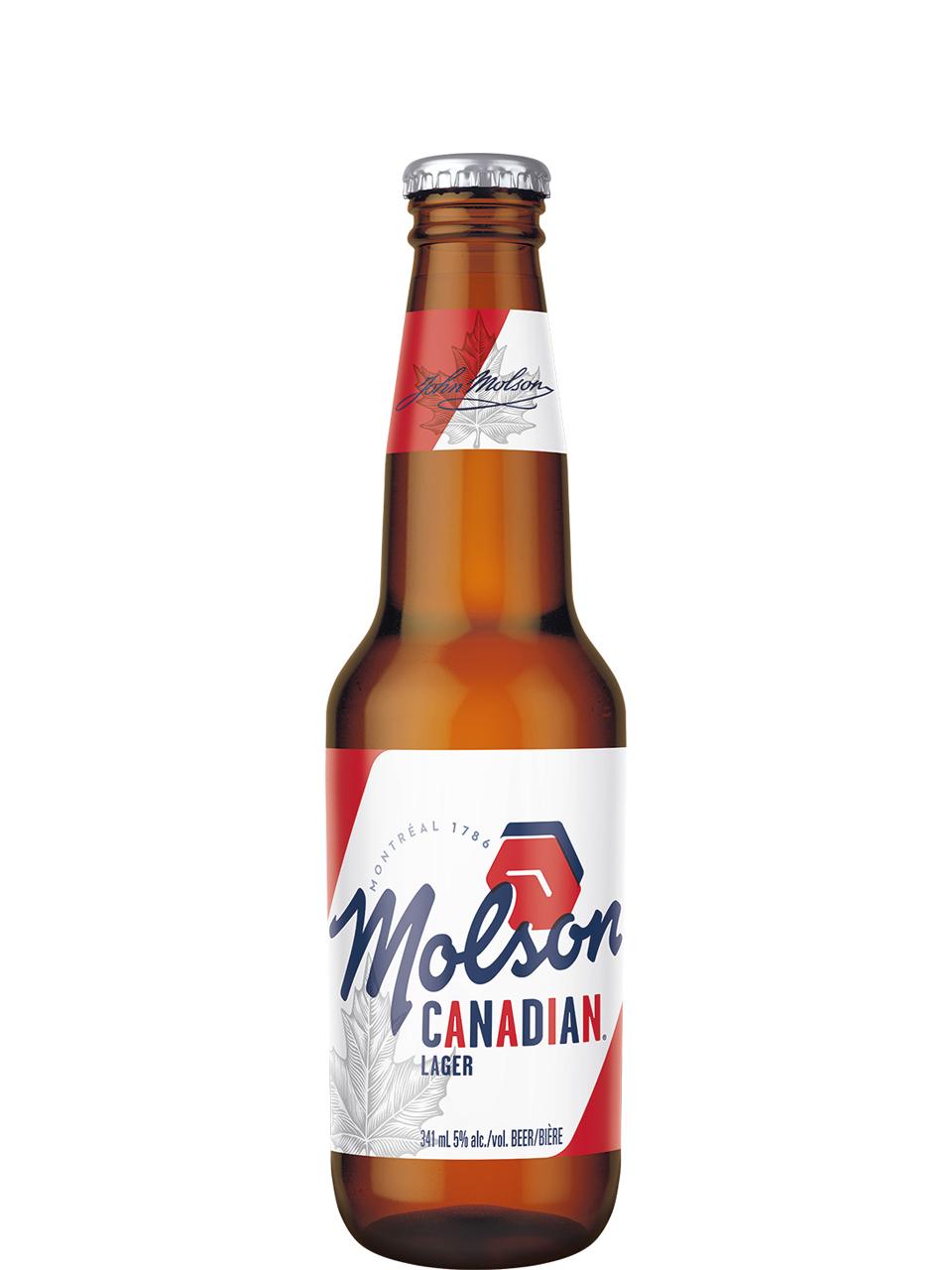 Molson Canadian Bottles 6pk
