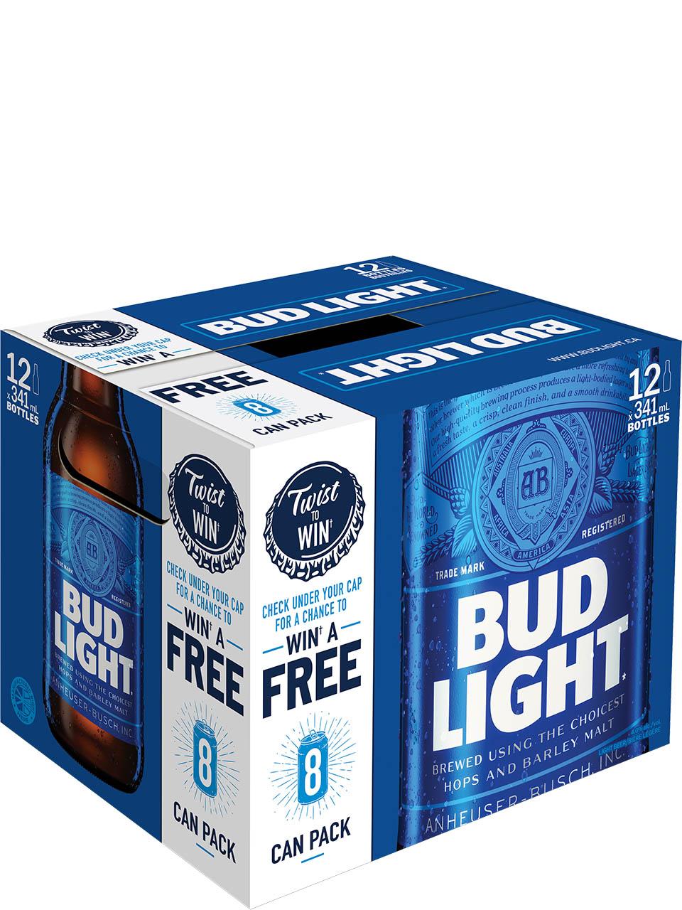 Bud Light Bottles 12pk