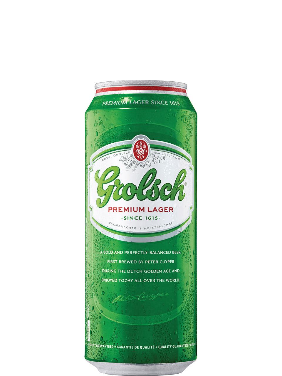 Grolsch Premium Lager 500ml Can