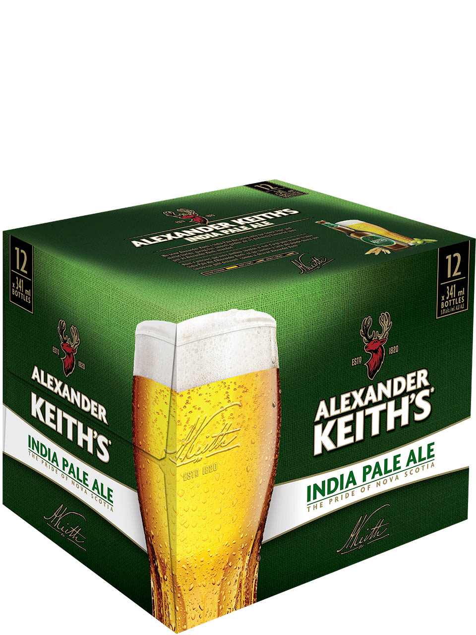 Keith's India Ple Ale Btl 12Pk