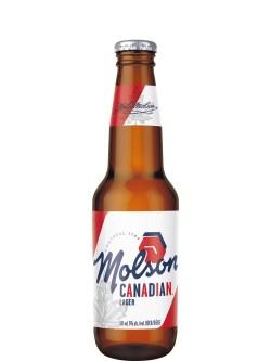 Molson Canadian Lgt Btls 24pk