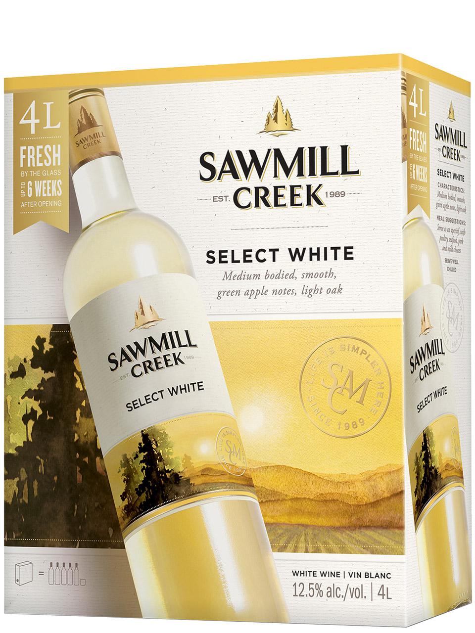 Sawmill Creek Select White