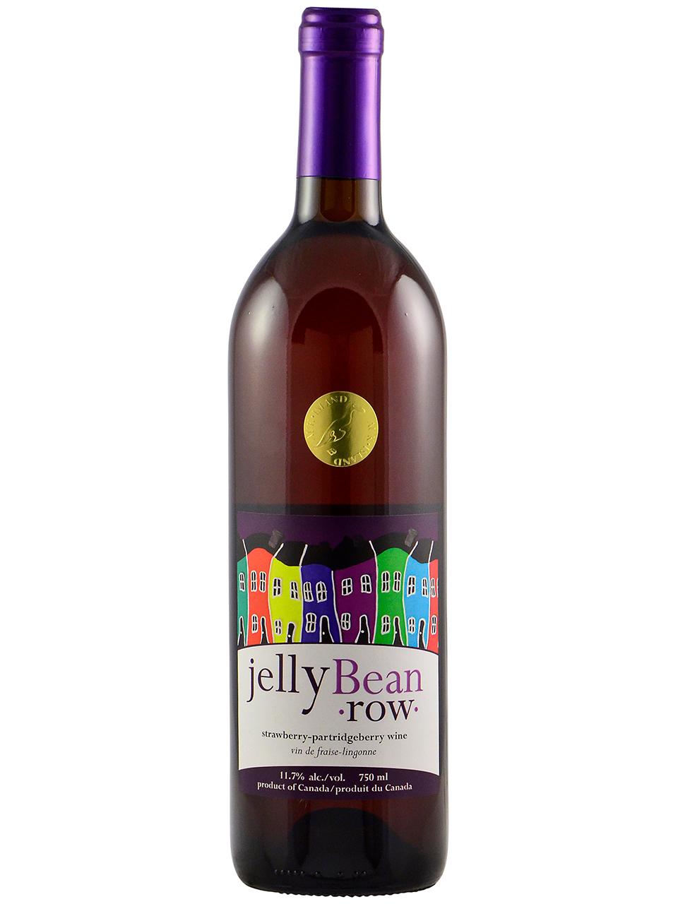 Jellybean Row Strawberry/Partridgeberry