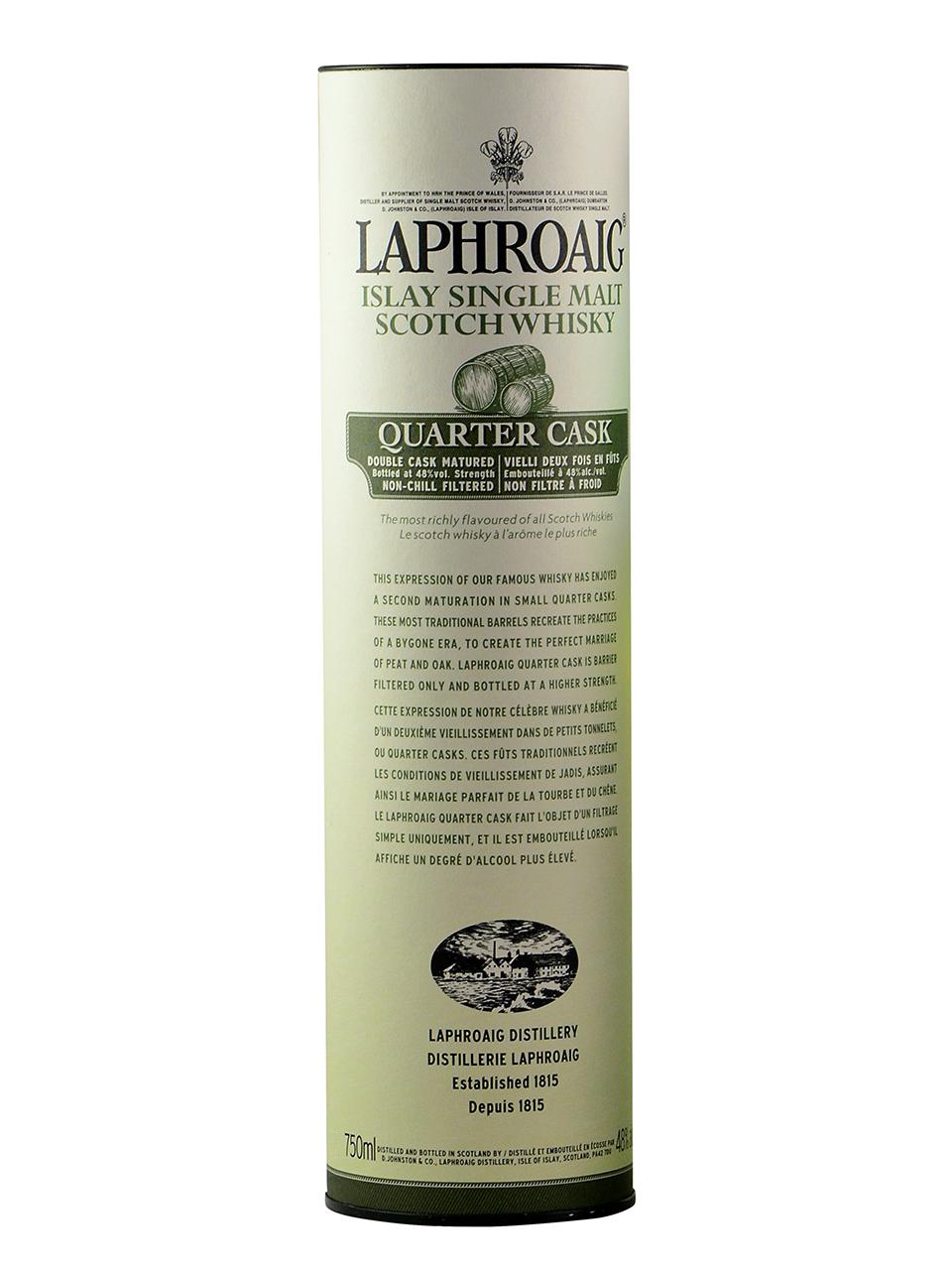 Laphroaig Quarter Cask Scotch Whisky