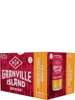 Granville Cranberry Orange Wheat Ale 6 Pack Cans