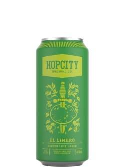 Hop City El Limero Ginger Lime Lager 473ml Can
