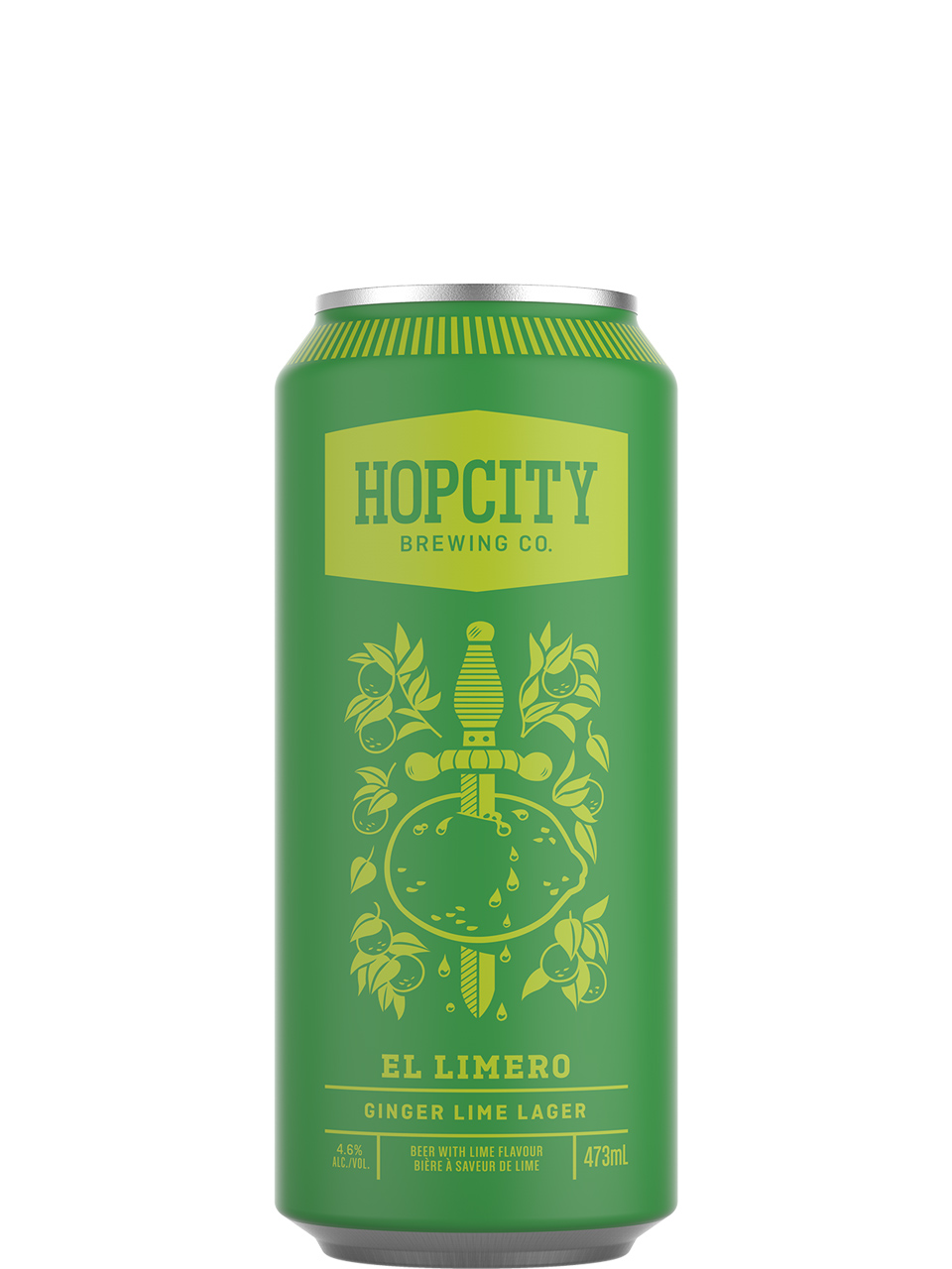 Hop City El Limero Ginger Lime Lager 473ml Can