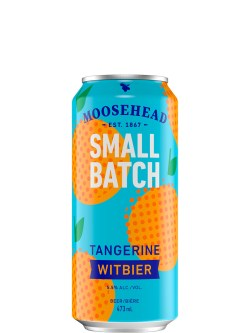 Moosehead Small Batch Tangerine Witbier 473ml Can