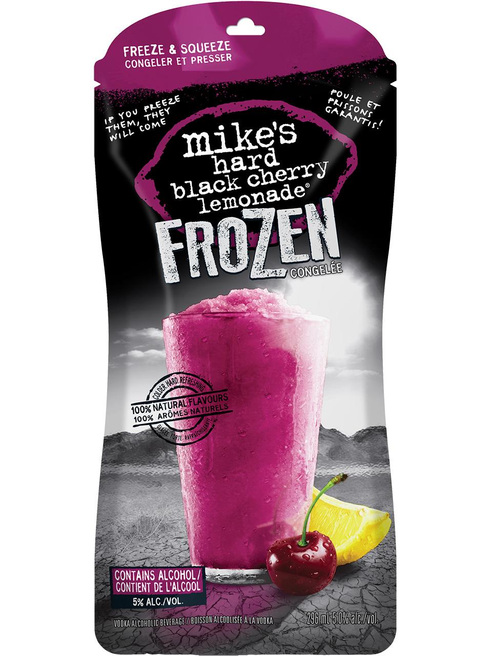 Mike's Hard Frozen Black Cherry Lemonade Pouch