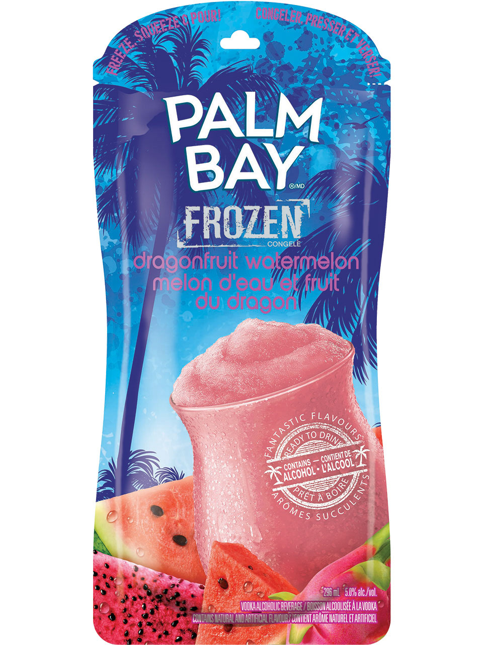 Palm Bay Frozen Dragonfruit Watermelon Pouch