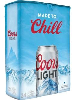 Coors Light 24 Pack Cans Cooler Bag