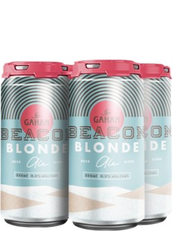 Gahan Beacon Blonde Ale 4 Pack Cans