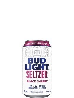 Bud Light Black Cherry Seltzer 6 Pack Cans