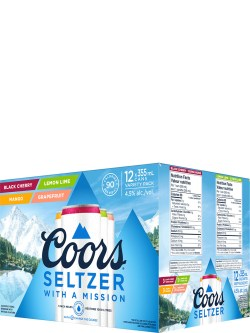 Coors Seltzer Variety 12 Pack Cans