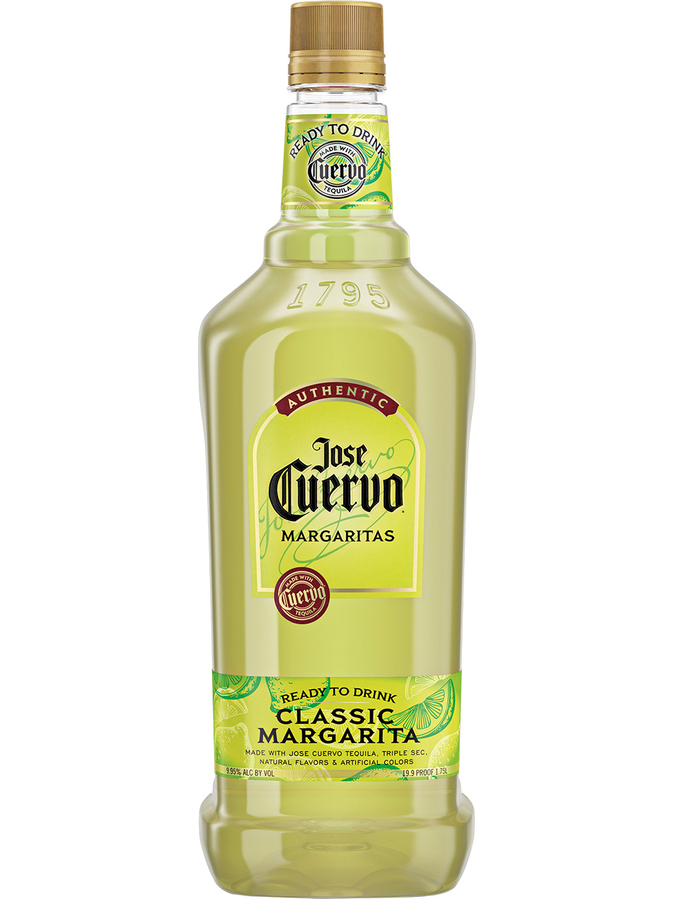 Jose Cuervo Authentic Classic Lime Margarita