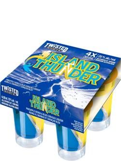 Twisted Shotz Island Thunder 4 Pack