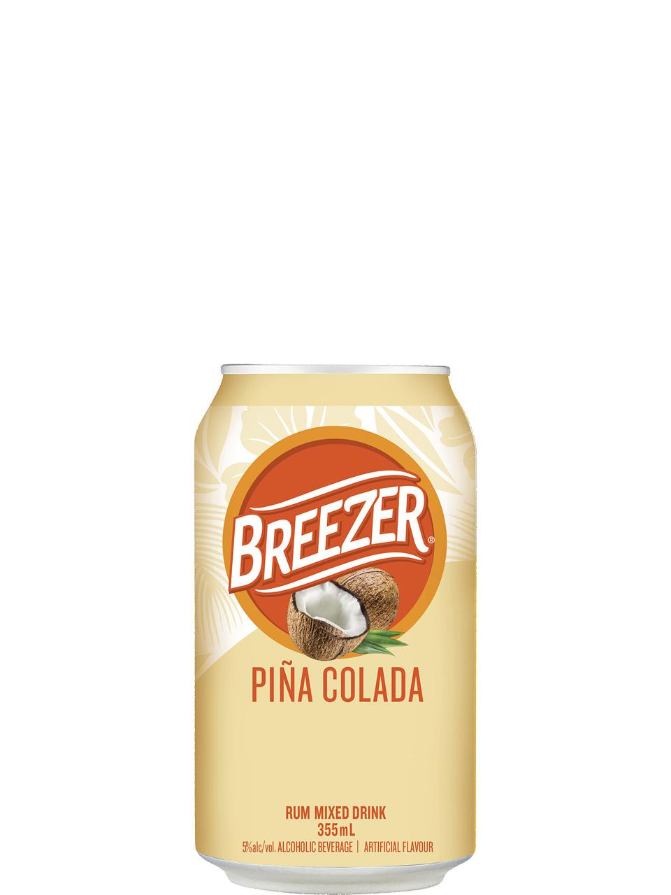 Breezer Pina Colada 6 Pack Cans