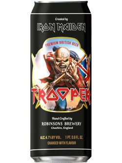 Iron Maiden Trooper Ale 500ml Can