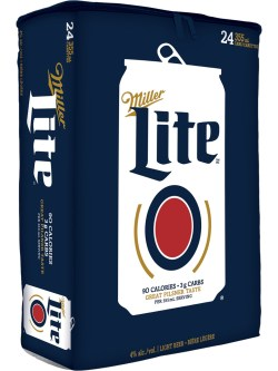 Miller Lite 24 Pack Cans Cooler Bag