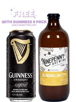 Ninepenny Blinding Light NEIPA 500ml Bottle