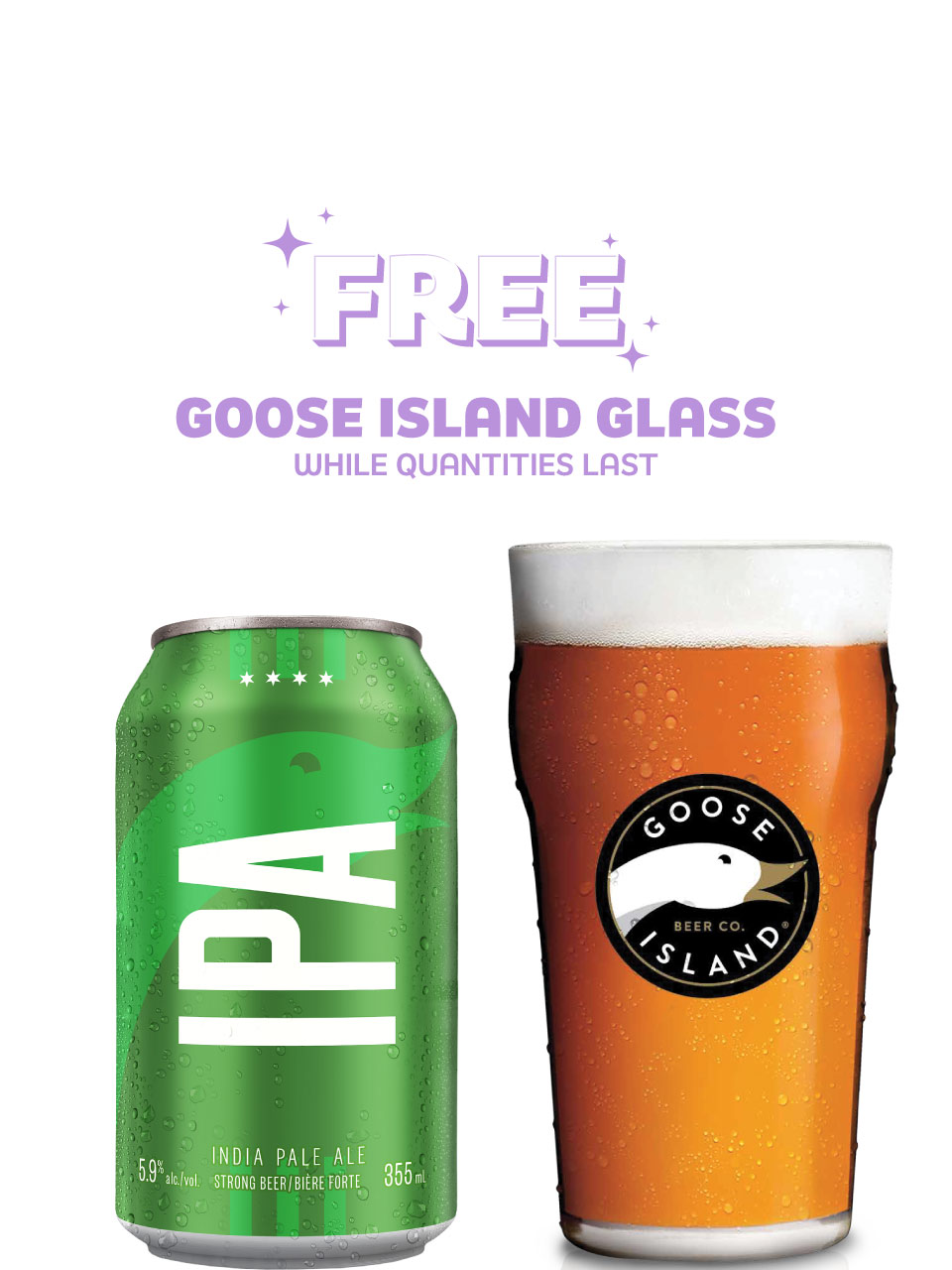Goose Island IPA 12 Pack Cans