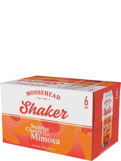 Moosehead Shaker Cherry Mimosa 6 Pack Cans