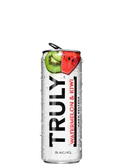 Truly Hard Seltzer Watermelon Kiwi 6 Pack Cans