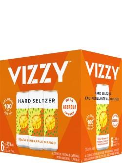 Vizzy Hard Seltzer Pineapple Mango 6pk Cans
