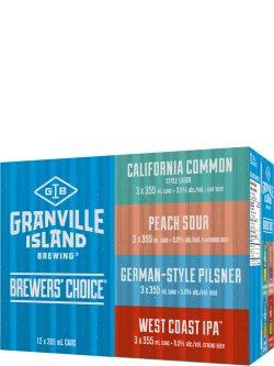 Granville Island Summer Mixer 12 Pack Cans
