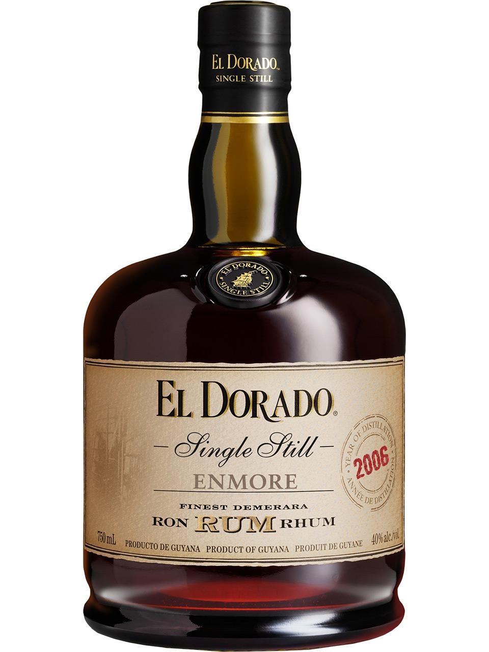 El Dorado Enmore Single Still Rum