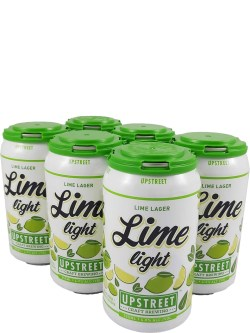 Upstreet Limelight Lime Lager 6 Pack Cans