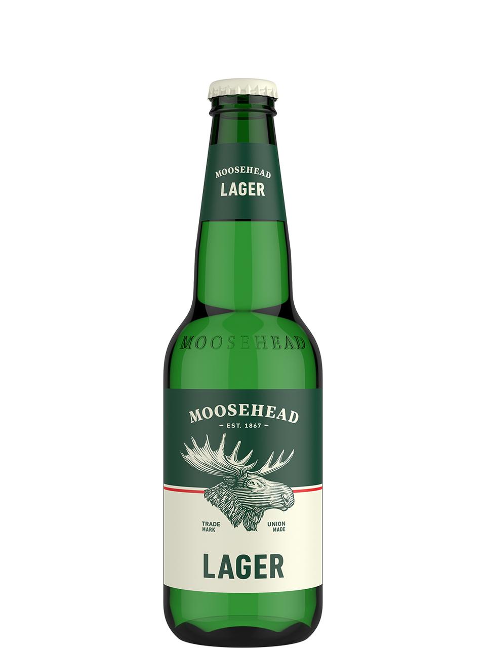 Moosehead Lager 12 Pack Bottles