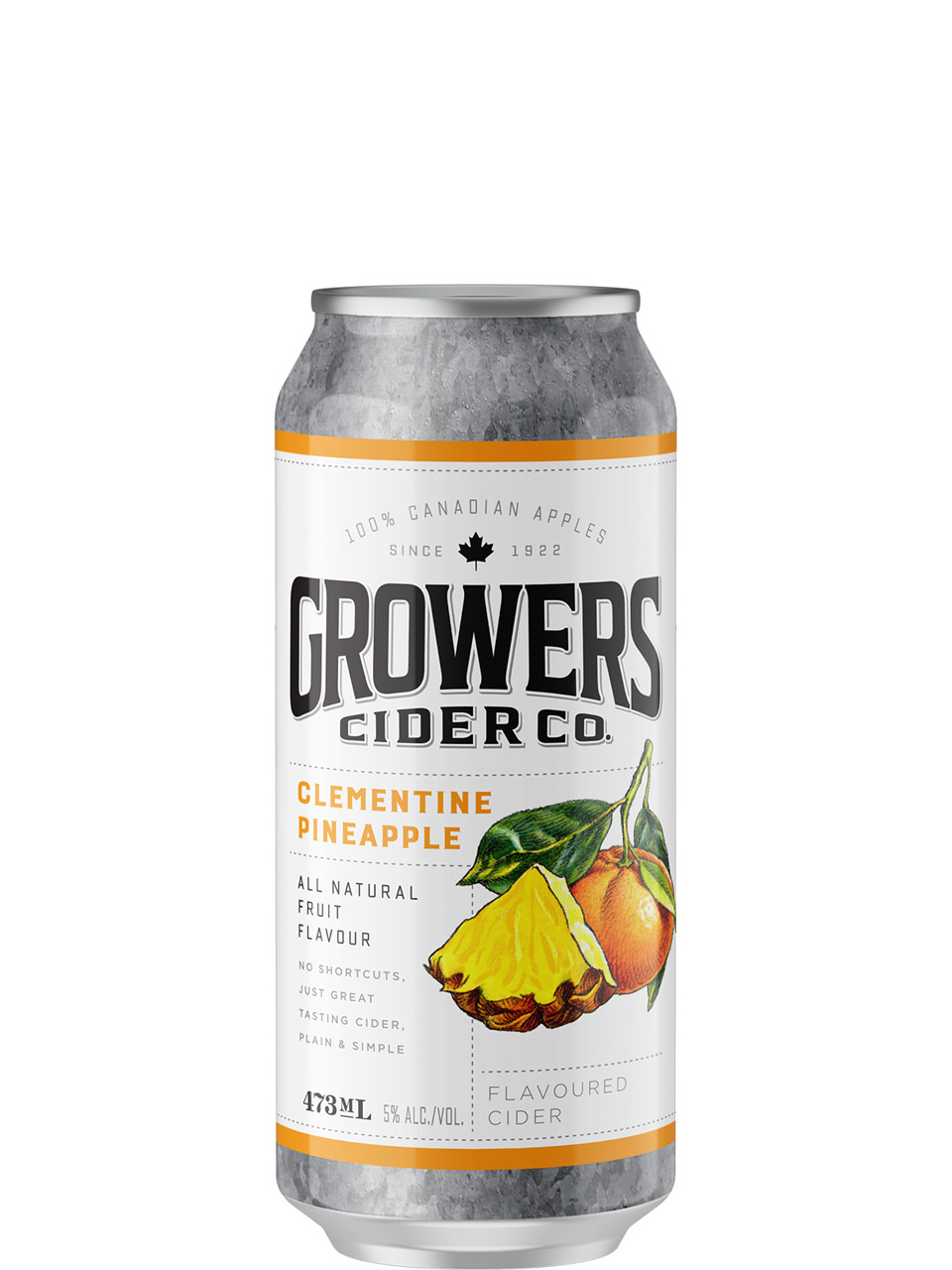 Growers Clementine Pineapple Cider 473ml Can
