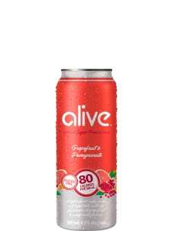 Alive Grapefruit & Pomegranate 4pk