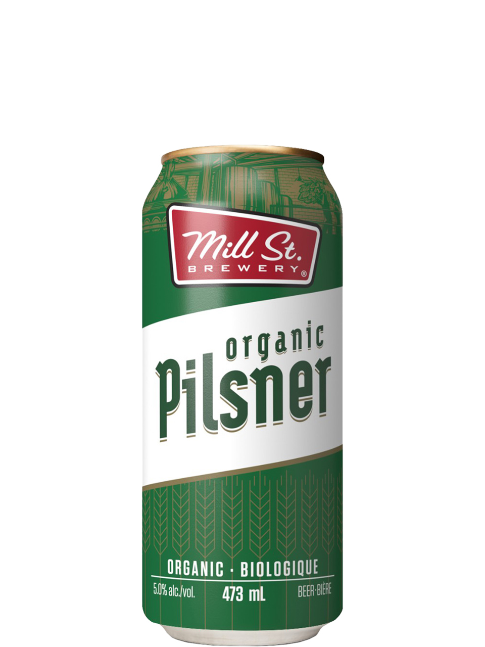 Mill St. Organic Pilsner 4 Pack Cans
