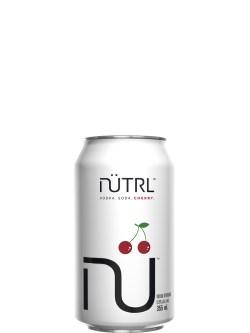 NUTRL Vodka Soda Cherry 6 Pack Cans