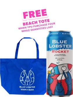 Blue Lobster Rocket 473ml Can
