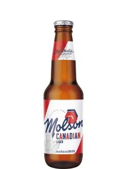 Molson Canadian Lager 6 Pack Bottles