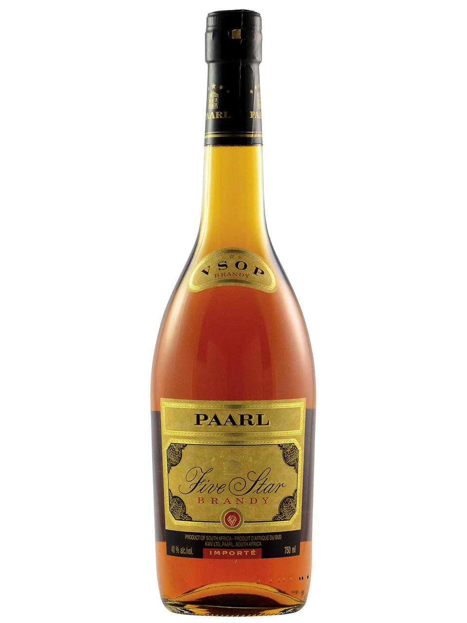 Paarl 5 Star VSOP Brandy
