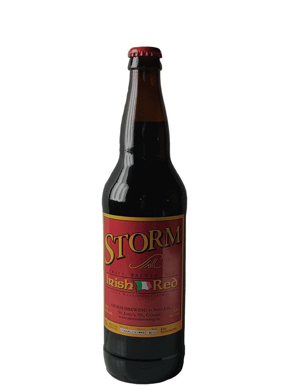 Storm Irish Nfld. Red Ale 650ml Bottle