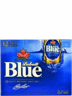 Labatt Blue Bottles 12pk