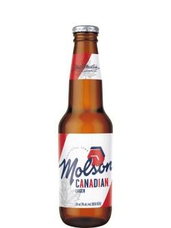 Molson Canadian Lager 24 Pack Bottles