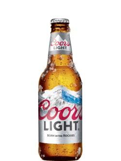 Coors Light Bottles 24pk