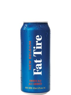 New Belgium Fat Tire Amber Ale 473ml Can